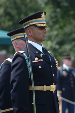 My husband in his Old Guard uniform.