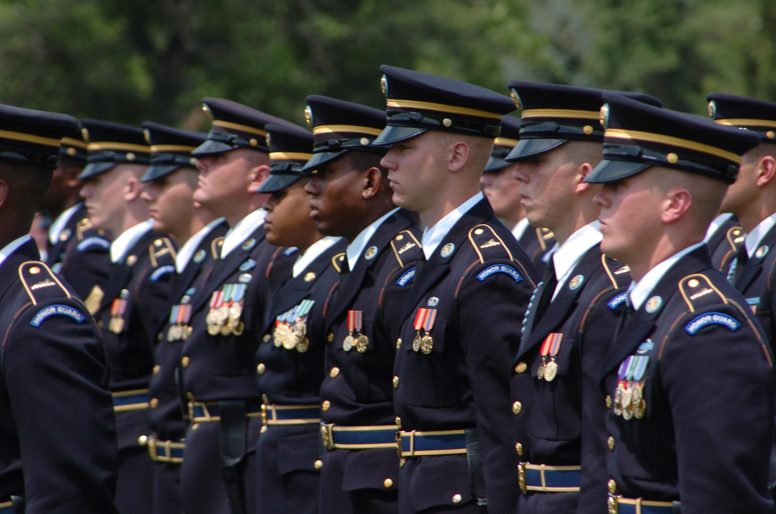 Old Guard Uniform 115