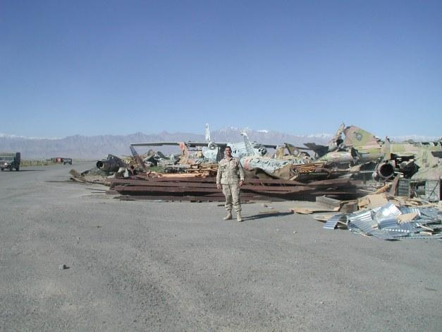 Abandoned Soviet aircraft