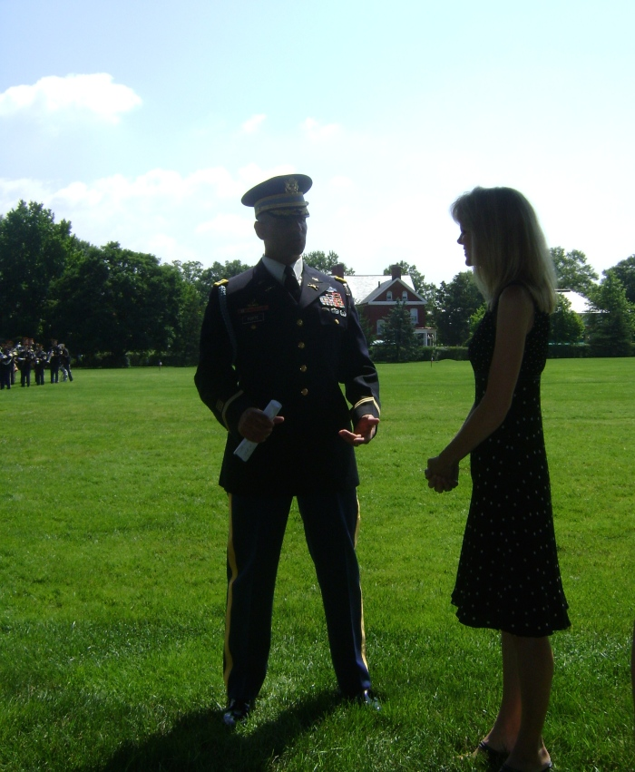 Old Guard Change of Command Ceremony